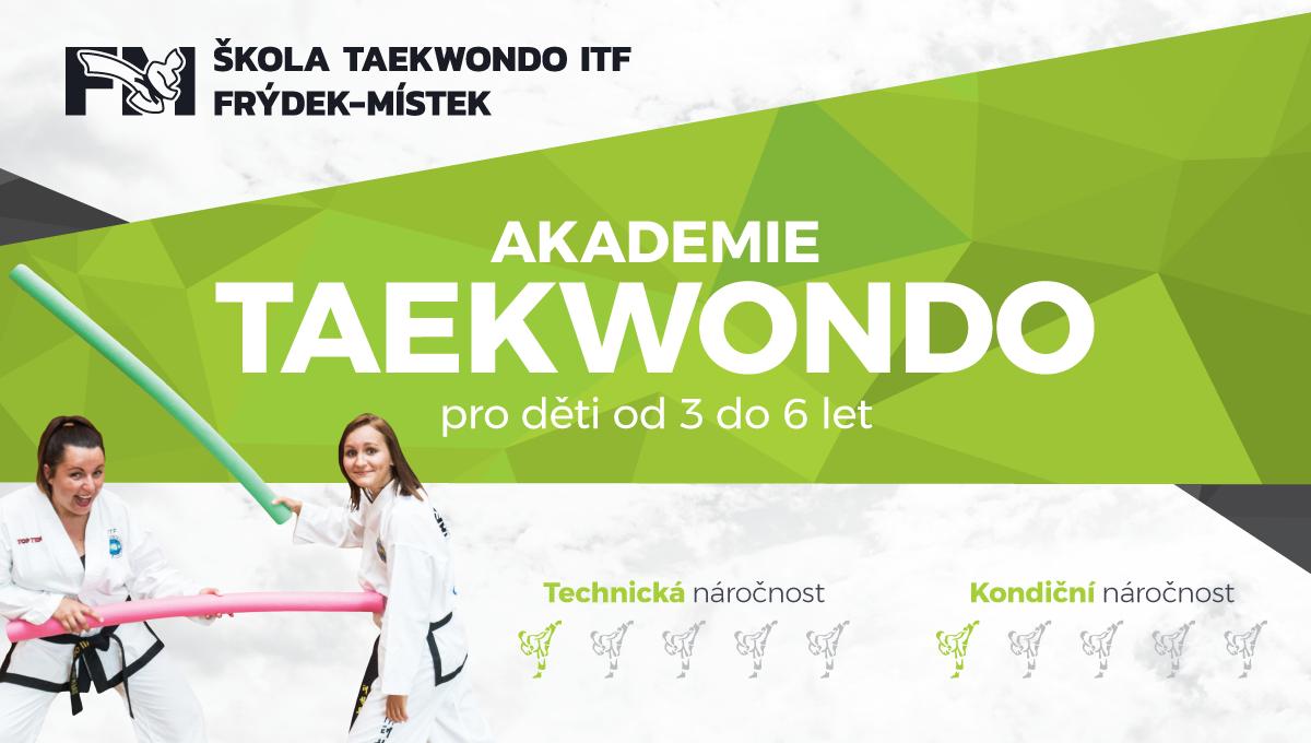Taekwondo Akademie 4 - 6 let