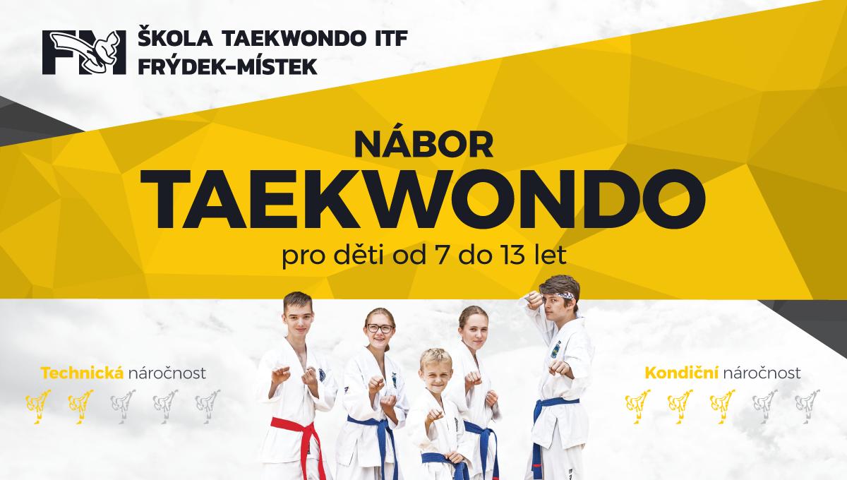 Taekwondo Nábor 7 - 13 let